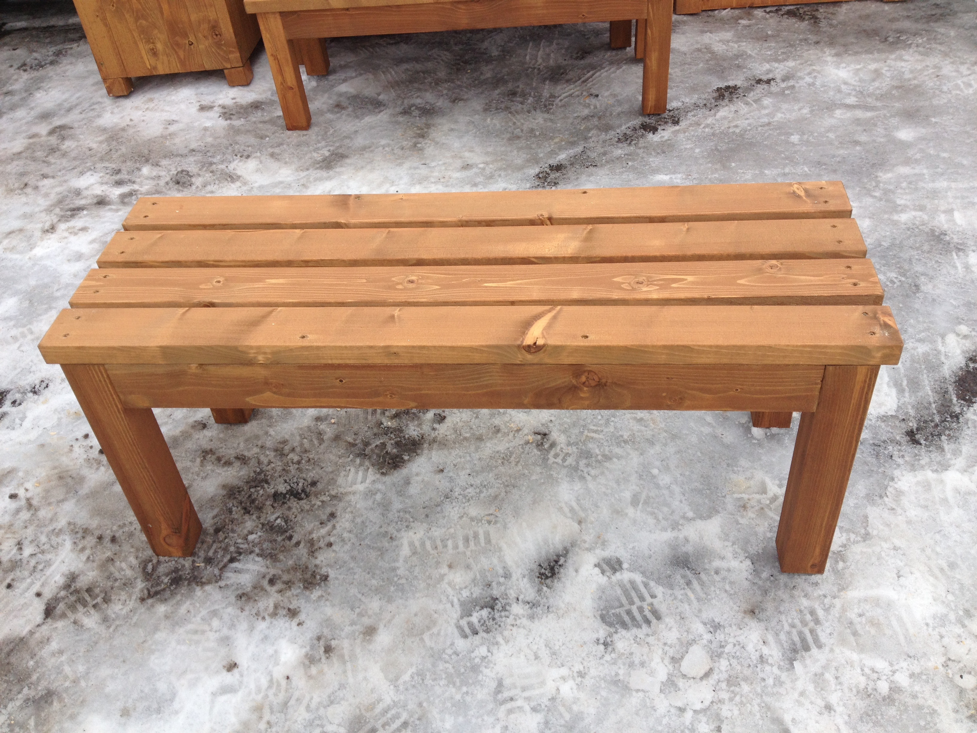 Garden Bench 3 Seater with Flat E Timber Products