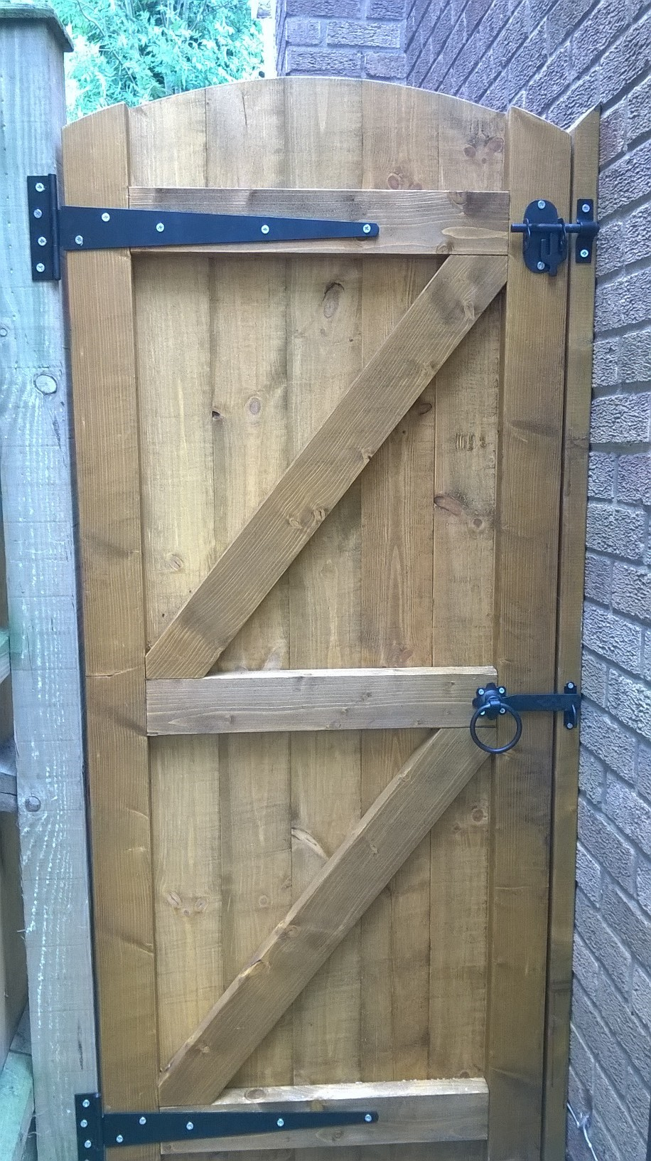 Wooden Garden Gates 800mm Full E Timber Products