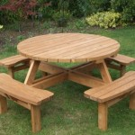 main round picnic table, pub bench, round table hire, leasing