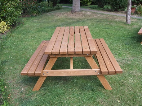 Wooden A Frame Picnic Bench 4 Seater E Timber Products