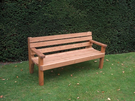 Garden Bench 2 Seater With Flat E Timber Products