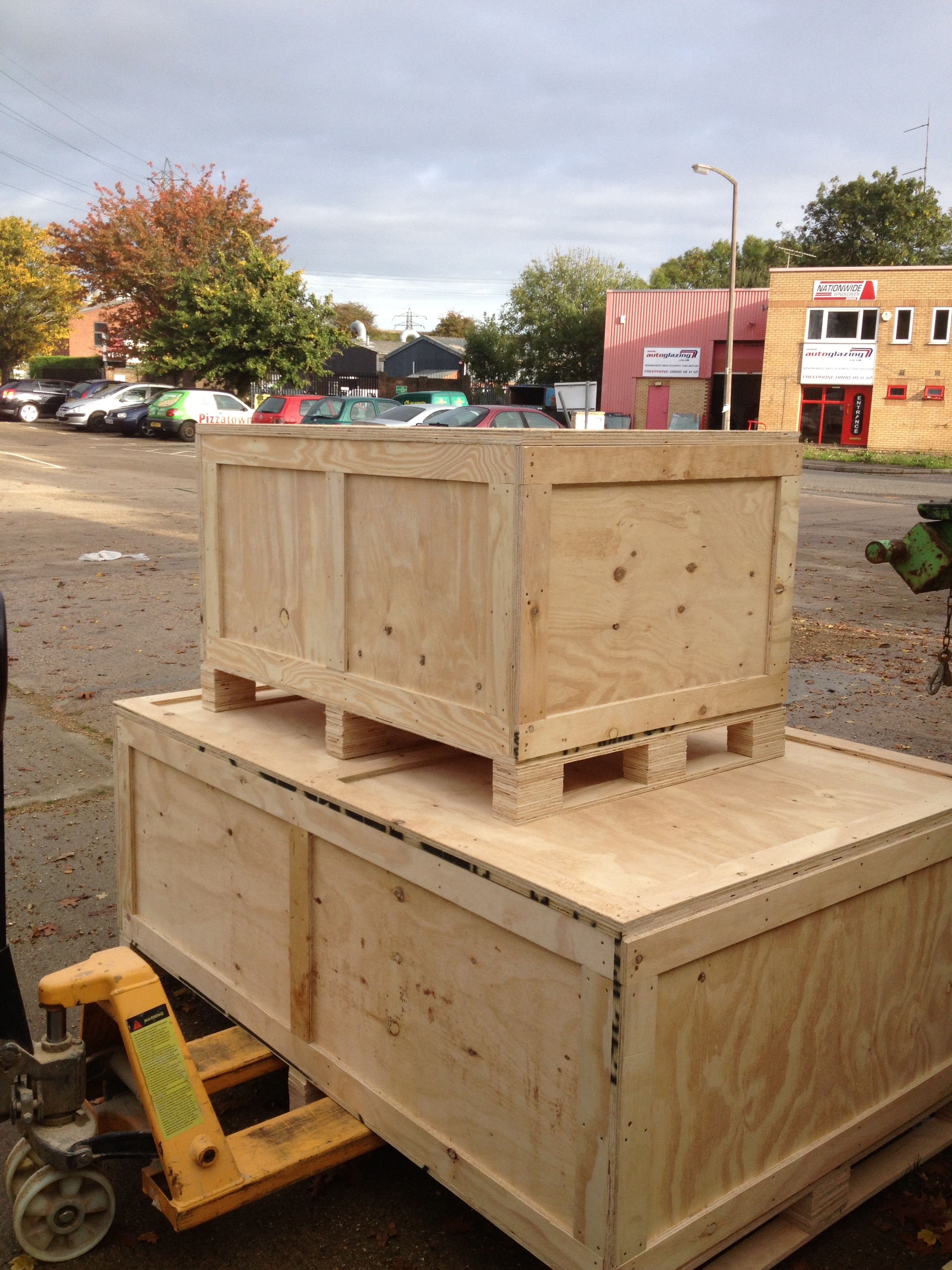 Wooden Shipping Crates & Packing Crates - E Timber Products