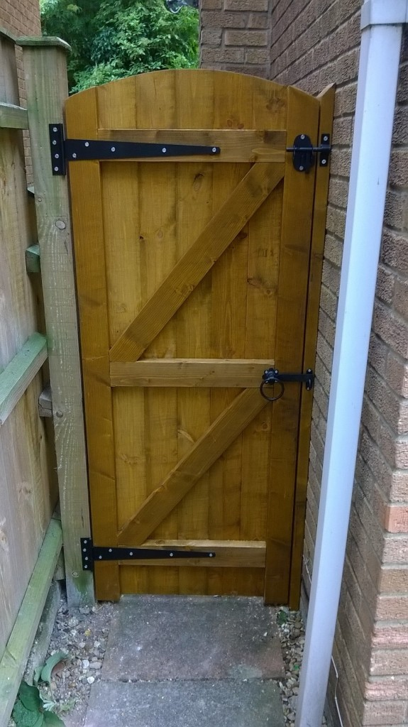 Wooden Garden Gates 900mm Full E Timber Products