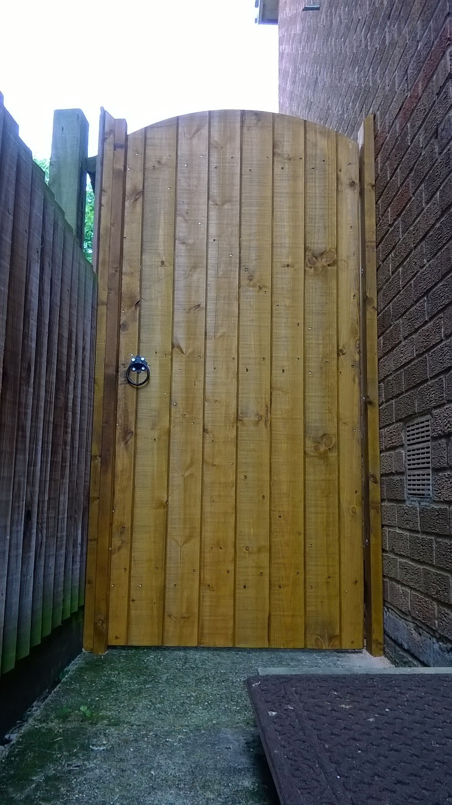 wooden garden gates 700mm full e timber products. Black Bedroom Furniture Sets. Home Design Ideas